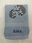 HEDGEHOG PERSONALISED FACE CLOTH - Animal